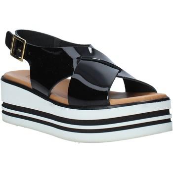 Παπούτσια Γυναίκα Σανδάλια / Πέδιλα Melluso 09603X Μαύρος