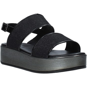 Παπούτσια Γυναίκα Σανδάλια / Πέδιλα Melluso 09620X Μαύρος