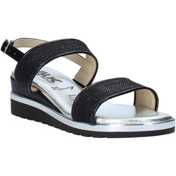 Παπούτσια Γυναίκα Σανδάλια / Πέδιλα Melluso H037073 Μαύρος