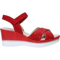 Παπούτσια Γυναίκα Σανδάλια / Πέδιλα Melluso 037064F το κόκκινο
