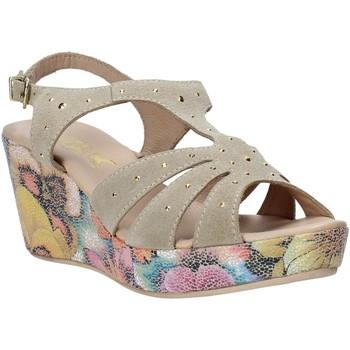 Παπούτσια Γυναίκα Σανδάλια / Πέδιλα Melluso H037040 Μπεζ