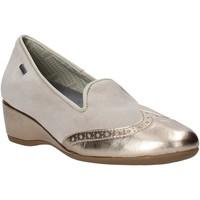 Παπούτσια Γυναίκα Μοκασσίνια Melluso H08121 Μπεζ