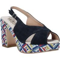 Παπούτσια Γυναίκα Σανδάλια / Πέδιλα Melluso H037080 Μπλε