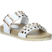 Παπούτσια Γυναίκα Τσόκαρα Melluso HK80086 λευκό