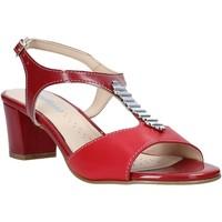 Παπούτσια Γυναίκα Σανδάλια / Πέδιλα Melluso K95352 το κόκκινο