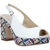 Παπούτσια Γυναίκα Σανδάλια / Πέδιλα Melluso .037081 λευκό