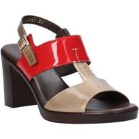 Παπούτσια Γυναίκα Σανδάλια / Πέδιλα Melluso HR8540 το κόκκινο