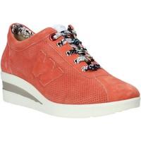 Παπούτσια Γυναίκα Χαμηλά Sneakers Melluso HR20110 Πορτοκάλι