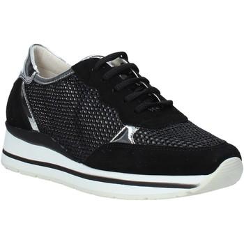 Παπούτσια Γυναίκα Χαμηλά Sneakers Melluso HR20033 Μαύρος