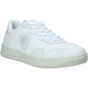 Παπούτσια Άνδρας Χαμηλά Sneakers Blauer S1DAYTON01/PUR λευκό