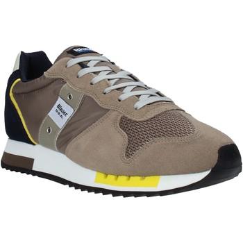 Παπούτσια Άνδρας Χαμηλά Sneakers Blauer S1QUEENS01/STO Μπεζ