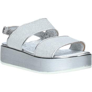 Παπούτσια Γυναίκα Σανδάλια / Πέδιλα Melluso 09620X Ασήμι