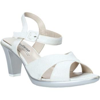 Παπούτσια Γυναίκα Σανδάλια / Πέδιλα Melluso HR50137 Ασήμι