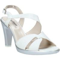 Παπούτσια Γυναίκα Σανδάλια / Πέδιλα Melluso HR50138 Ασήμι