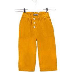Υφασμάτινα Παιδί Παντελόνια Losan 026-9002AL Κίτρινος