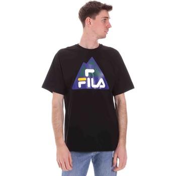 Υφασμάτινα Άνδρας T-shirt με κοντά μανίκια Fila 688525 Μαύρος