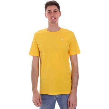 Υφασμάτινα Άνδρας T-shirt με κοντά μανίκια Fila 682201 Κίτρινος