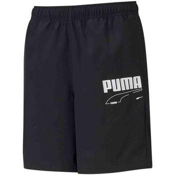 Υφασμάτινα Παιδί Σόρτς / Βερμούδες Puma 587022 Μαύρος
