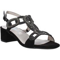 Παπούτσια Γυναίκα Σανδάλια / Πέδιλα Valleverde 45140 Μαύρος