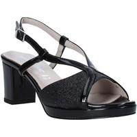 Παπούτσια Γυναίκα Σανδάλια / Πέδιλα Valleverde 46373 Μαύρος