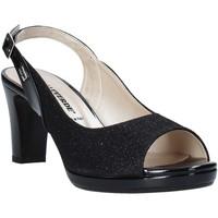 Παπούτσια Γυναίκα Σανδάλια / Πέδιλα Valleverde 28340 Μαύρος