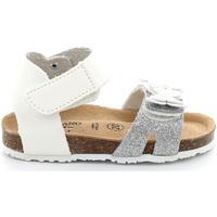 Παπούτσια Κορίτσι Σανδάλια / Πέδιλα Grunland SB1716 λευκό