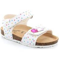 Παπούτσια Κορίτσι Σανδάλια / Πέδιλα Grunland SB1719 λευκό