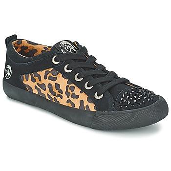Παπούτσια Γυναίκα Χαμηλά Sneakers Diesel LEOPAR Black