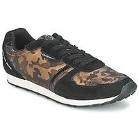 Παπούτσια Γυναίκα Χαμηλά Sneakers Diesel CAMOUFLAGE Brown