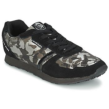 Παπούτσια Γυναίκα Χαμηλά Sneakers Diesel CAMOUFLAGE Black
