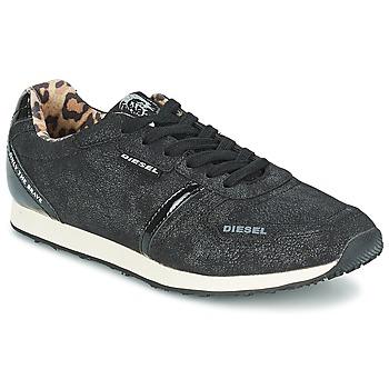 Παπούτσια Γυναίκα Χαμηλά Sneakers Diesel METAL Black