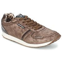 Παπούτσια Γυναίκα Χαμηλά Sneakers Diesel METAL Brown