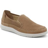 Παπούτσια Άνδρας Slip on Grunland SC5196 καφέ