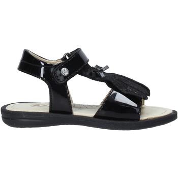 Παπούτσια Κορίτσι Σανδάλια / Πέδιλα Naturino 502579 61 Μαύρος