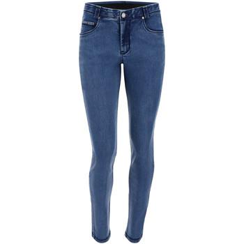 Υφασμάτινα Γυναίκα Skinny jeans Freddy BLACK1RS101 Μπλε