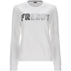 Υφασμάτινα Γυναίκα Φούτερ Freddy S1WCLS4 λευκό