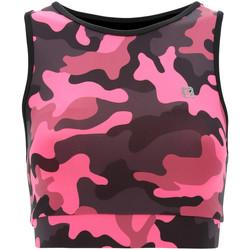 Υφασμάτινα Γυναίκα Αθλητικά μπουστάκια  Freddy S1WFTB2C Ροζ