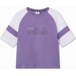 Υφασμάτινα Παιδί T-shirt με κοντά μανίκια Fila 683330 Βιολέτα
