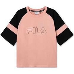 Υφασμάτινα Παιδί T-shirt με κοντά μανίκια Fila 683330 Ροζ