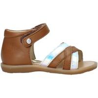 Παπούτσια Κορίτσι Σανδάλια / Πέδιλα Naturino 502678 02 καφέ