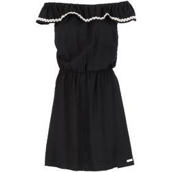 Υφασμάτινα Γυναίκα Κοντά Φορέματα Café Noir JA6090 Μαύρος