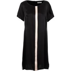Υφασμάτινα Γυναίκα Κοντά Φορέματα Café Noir JA6260 Μαύρος