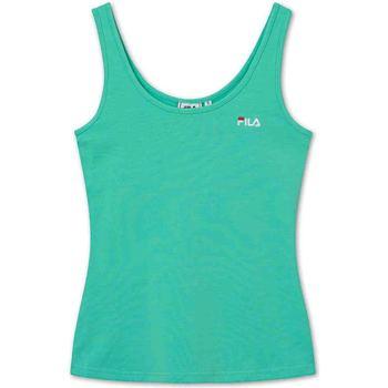 Υφασμάτινα Γυναίκα Αμάνικα / T-shirts χωρίς μανίκια Fila 688777 Πράσινος