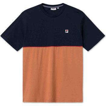 Υφασμάτινα Άνδρας T-shirt με κοντά μανίκια Fila 688562 Μπλε