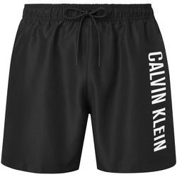 Υφασμάτινα Άνδρας Μαγιώ / shorts για την παραλία Calvin Klein Jeans KM0KM00570 Μαύρος