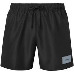 Υφασμάτινα Άνδρας Μαγιώ / shorts για την παραλία Calvin Klein Jeans KM0KM00574 Μαύρος