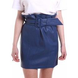 Υφασμάτινα Γυναίκα Φούστες Federica Tosi FTE20GO036.0VPELLE Μπλε