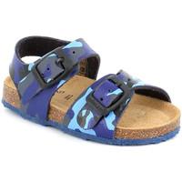 Παπούτσια Παιδί Σανδάλια / Πέδιλα Grunland SB0383 Μπλε