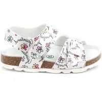 Παπούτσια Παιδί Σανδάλια / Πέδιλα Grunland SB1663 λευκό