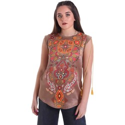 Υφασμάτινα Γυναίκα Μπλούζες Cristinaeffe 5660 Μπεζ